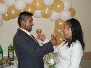 Javier and Celia's Reception