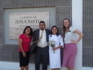 Sister Ruiz, Javier, Celia, Sister Clawson